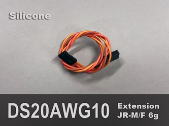 Extension, Servo, 20AWG,10""