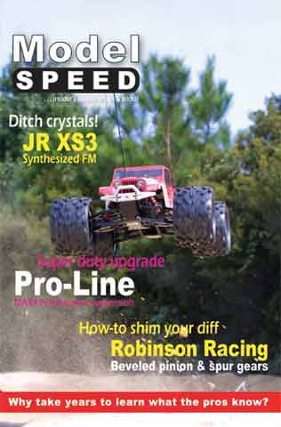 ModelSpeed magazine -  Issue DSP0101
