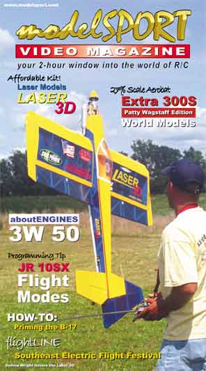 modelSPORT magazine on DVD - Volume 5, Number 3