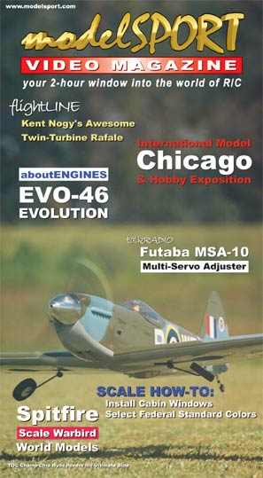 modelSPORT magazine on DVD - Volume 6, Number 2