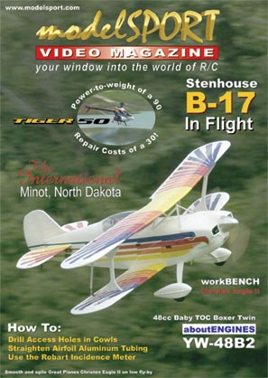 modelSPORT magazine on DVD - Volume 7, Number 1