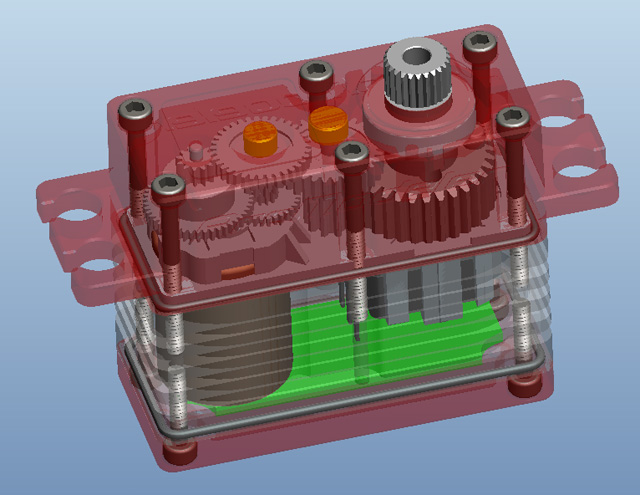 Not exactly Superman's x-ray vision, but this CAD image shows off the inner design details very nicely.