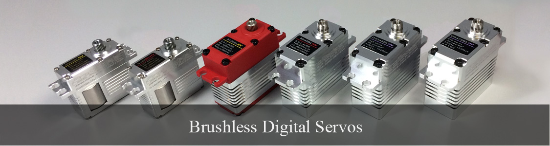 Brushless motors result in the ne plus ultra of servos within the ProModeler range
