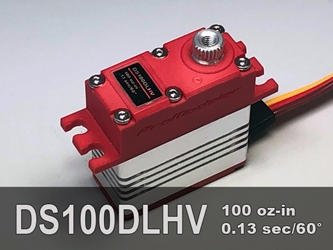 100oz-in, Micro, DLS Micro servo designed to replace a hitec HS-5085MG