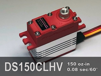 150oz-in, Micro, CLS Micro servo designed to replace a hitec HS-5085MG