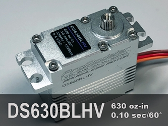 630oz-in, Std, BLS ProModeler makes the best servos for giant scale crawling X-MAXX