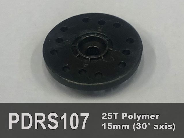 21mm diameter servo horn