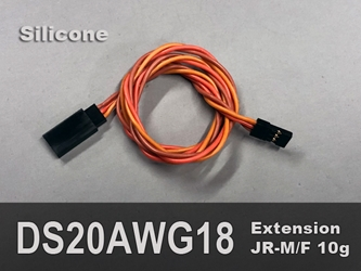 Extension, Servo, 20AWG, 18""