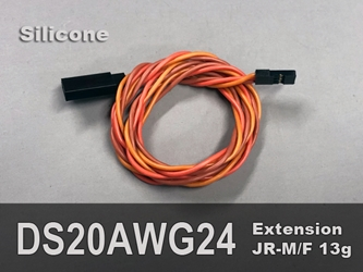 Extension, Servo, 20AWG, 24""