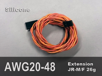 Extension, Servo, 20AWG, 48""