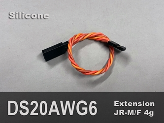 Extension, Servo, 20AWG, 6""