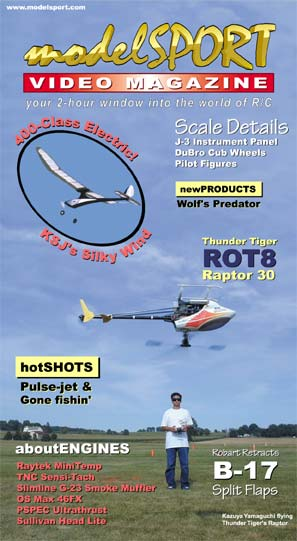 modelSPORT magazine - Volume 3, Number 5 (VHS)