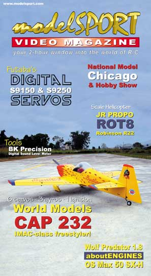 modelSPORT magazine - Volume 4, Number 1 (VHS)