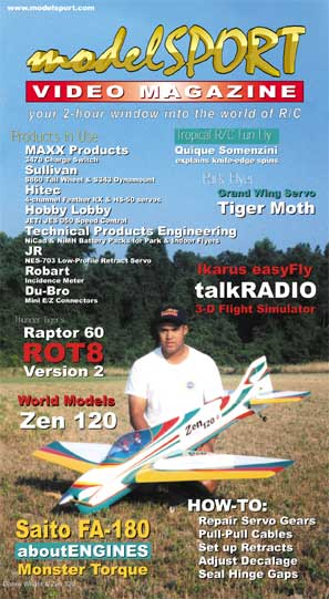 modelSPORT magazine - Volume 4, Number 3 (VHS)