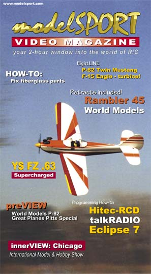 modelSPORT magazine - Volume 5, Number 1 (VHS)